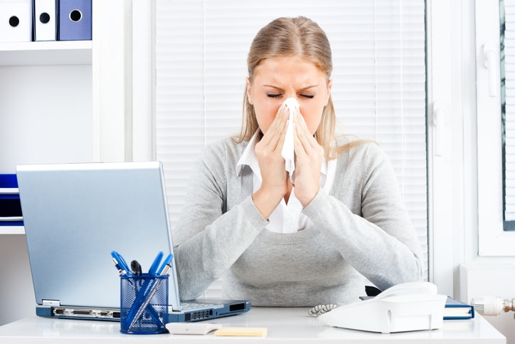 5 Tips for Keeping Your Office Healthy During Flu Season