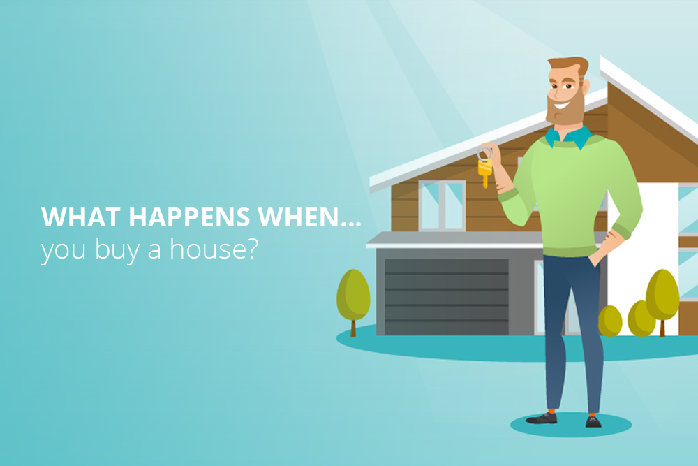 What Happens When You Buy A House?