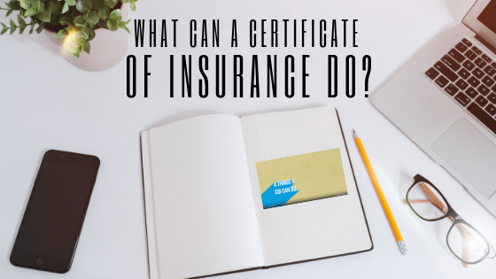 COI of Insurance